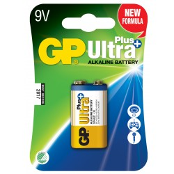 GP Ultra Plus Alkaline, 9V